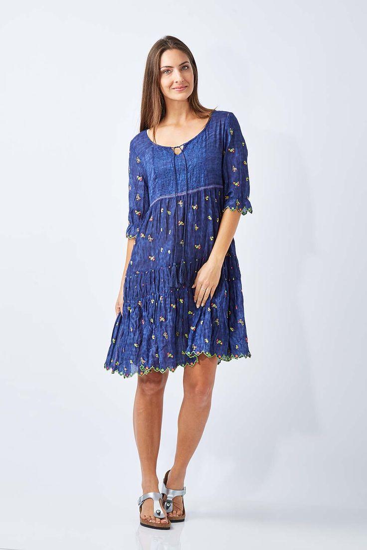 RUBY YAYA - Neon Floral Dress