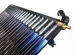 Kingspan Varisol heatpipe vacuüm buis,hoge opbrengst, modulair en flexibel te gebruiken. Voorzien van ingebouwde temperatuursbegrenzing