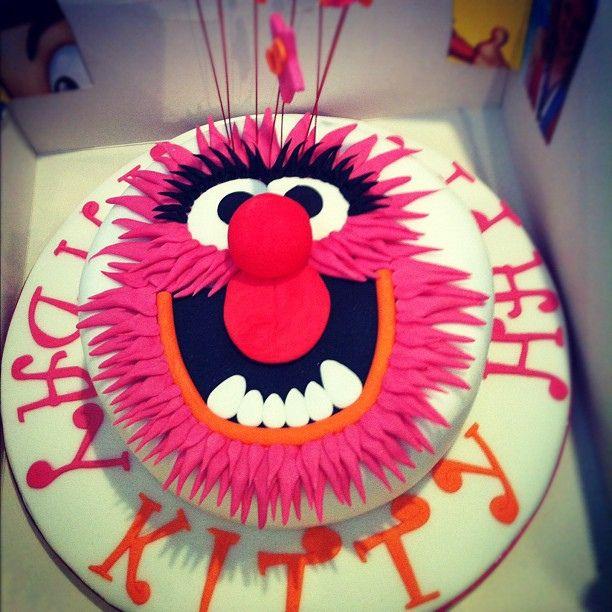 Kitty's Muppet Birthday Cake by Cocoa Media, via Flickr