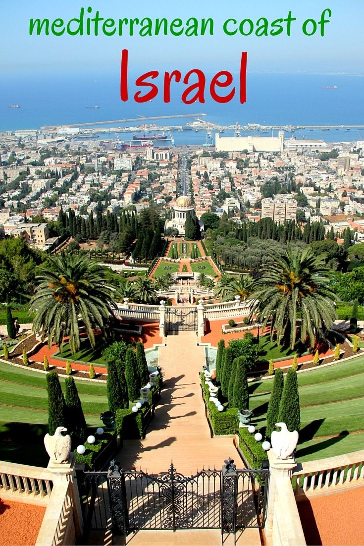 The Mediterranean coast of Israel: Haifa, Acre, Ceasarea, Tel Aviv and more! Have you ever heard of Jisr az Zarqa and Rosh Hanikra? Take a look and organise your trip to Israel!