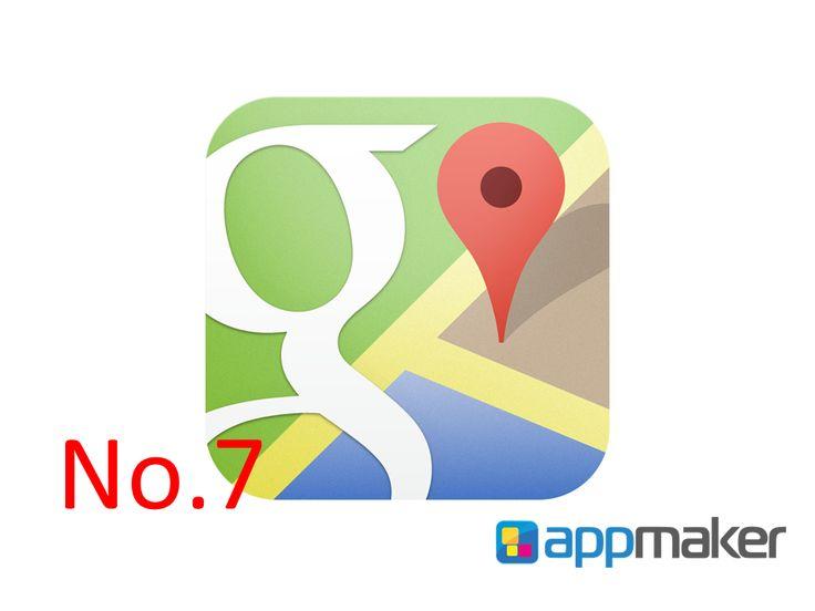 """APLICACIONES MÓVILES ¿Qué aplicación ayuda a ubicarnos de una manera exacta? APP MAKER TE CONTESTA Sin duda es Google Maps.  Esta aplicación es una de las maravillas de este tiempo, ya que nos permite conocer """"casi"""" todo el mundo, por medio de tomas de satélites y de cámaras fotográficas, ubicarnos en caso de perdernos, llegar al lugar en cuestión de minutos y tener un guía personal. Ocupa el séptimo sitio de descargas. www.appmaker.mx"""