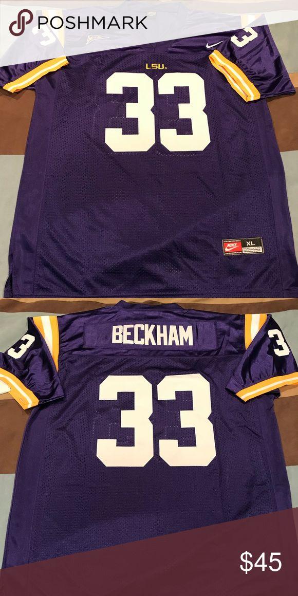 Odell Beckham Sr. Jersey LSU throwback of Odell's old man. The original Beckham. NWT stitched Shirts