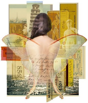 Angel Espionage: Margaret Riegel - Illustration for NYTimes Sunday Book Review