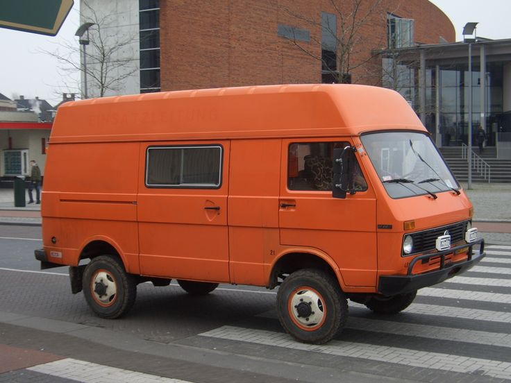 Used to have one of these vw LT myself - maybe why I felt ok about the Kewet design