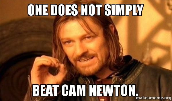10 Hilarious Cam Newton Memes No Matter If You Bleed Panther Blue Or Bronco Orange