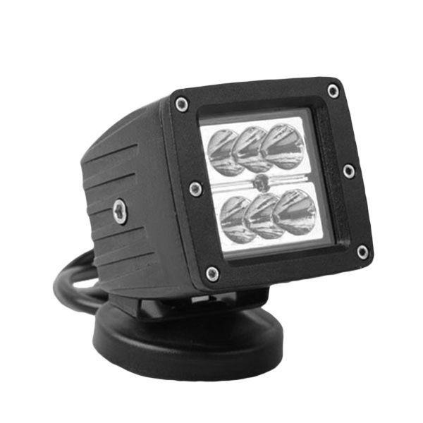 18W 1440lm 6000K IP67 LED Work Light Front Spot Lightt Retrofit For SUV ATV Car Wrangler OVOVS