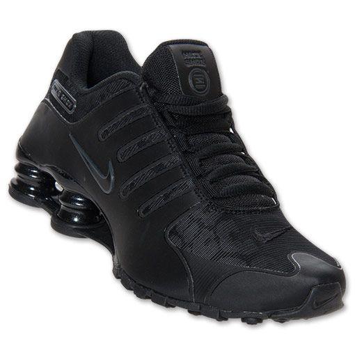 Women's Nike Shox NZ EU Running Shoes | FinishLine.com | FNL Exclusive-Black