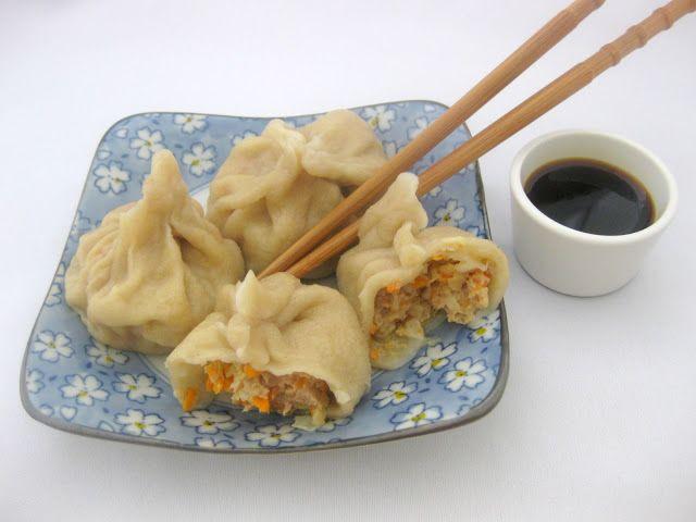 A falta de Lexatín...buenas son tortas: Dumplings o empanadillas chinas al vapor