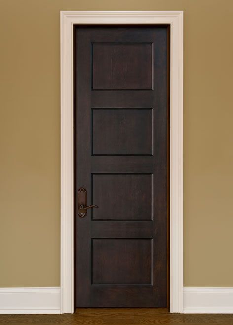 Artisan Mahogany Solid Wood Front Entry Door - Single - GDI-4000