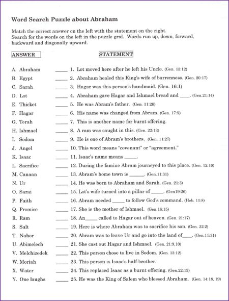 Worksheets Bible Worksheets For Youth 104 best images about bible activity sheets on pinterest maze teens word search abraham and sarah kids korner biblewise