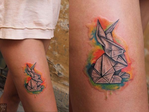 Origami | Татуировки, эскизы и тату-мастера России, Украины, Беларуси, Казахстана и из всего бывшего СССР