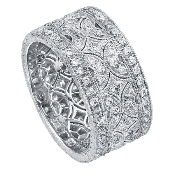 Beverley K Wide Bands For Women Are Delightfully Extravagant Rings
