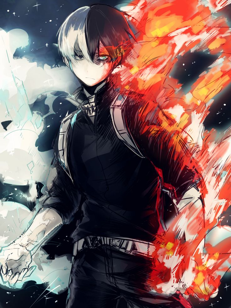Todoroki Wallpaper Phone Hd