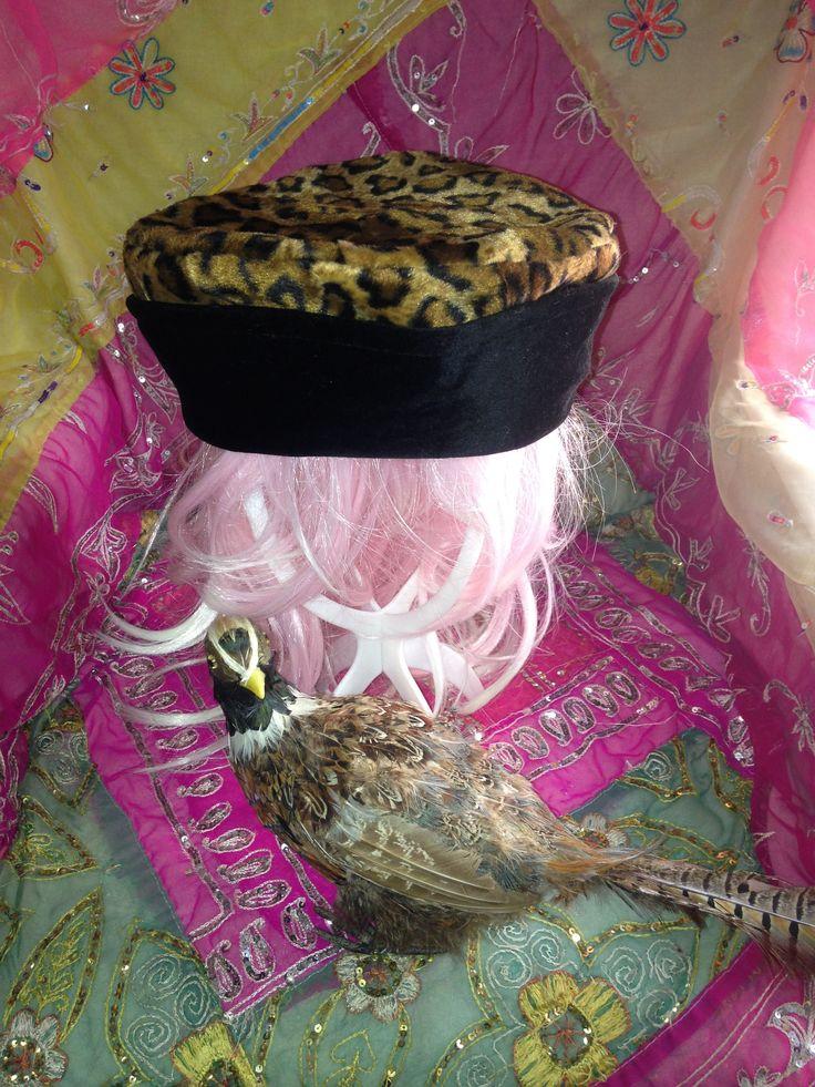 Reversable vintage velvet fez style English hat Miss Marple easy care retro versatile by EnglishRoseFineArts on Etsy