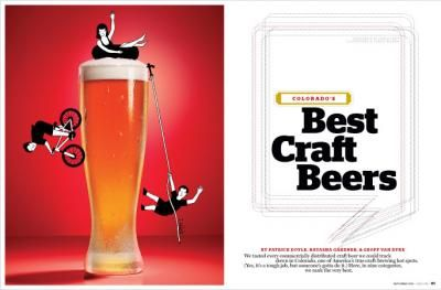 """Many Dads like beer so wouldn't a brewery tour be a great Father's Day gift?? """"Colorado's Best Craft Beers"""" From 5280 Magazine"""