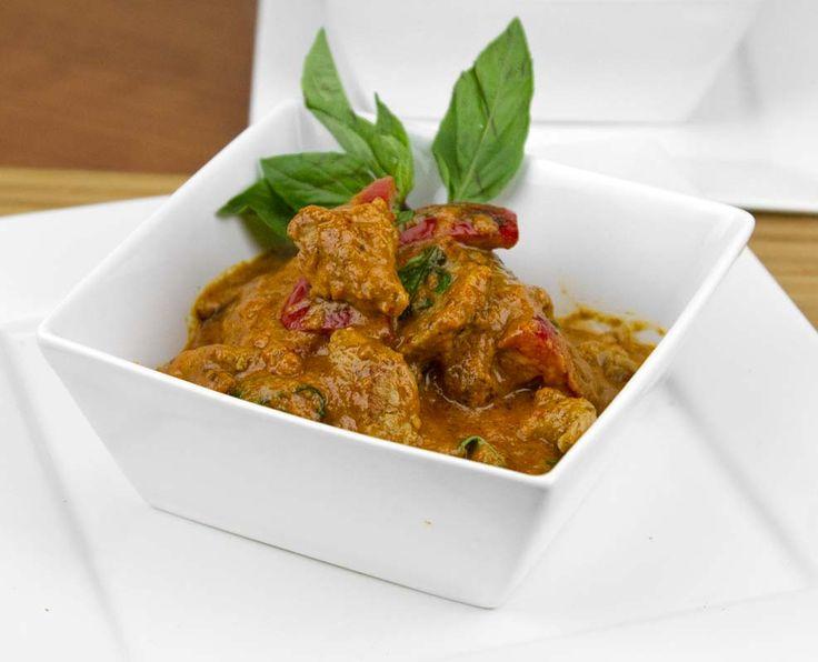 Thai Red Pork Curry / @djfoodiedotcom / DJFoodie.com