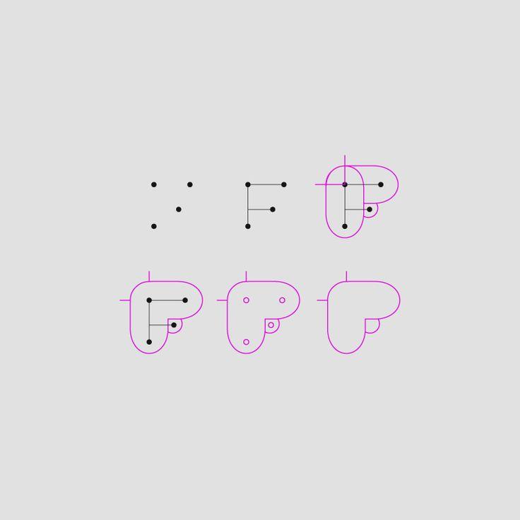 Freebee branding. Logo process. - Fisga design. www.fisgadesign.pt