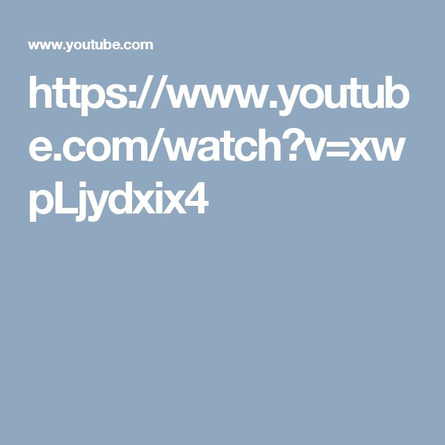 https://www.youtube.com/watch?v=xwpLjydxix4