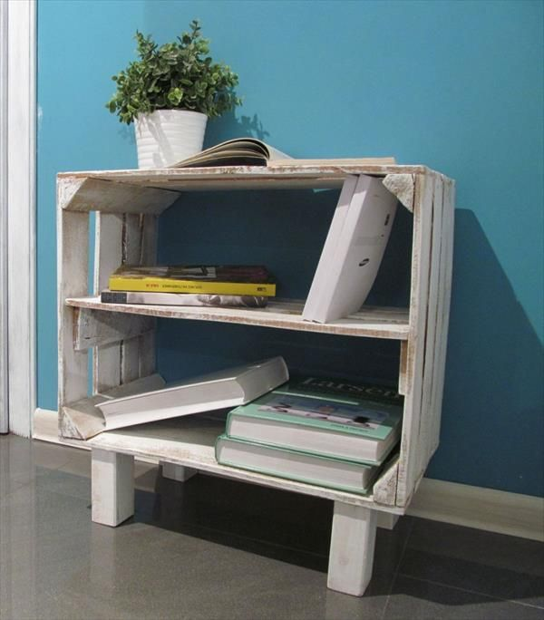 DIY Pallet Storage Racks | Pallet Furniture Plans
