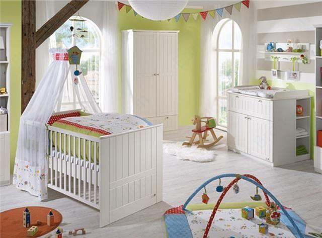 Die besten 25+ Komplett babyzimmer Ideen auf Pinterest - kinderzimmer blau wei streichen