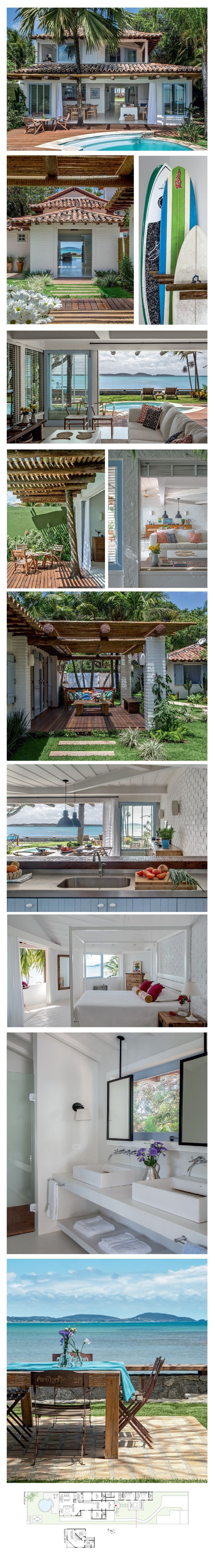 Anderson cooper s brazilian rest house is a vintage and rustic dream - The Interior Of The Beach House In Brazil Perfect Beach Living For Me