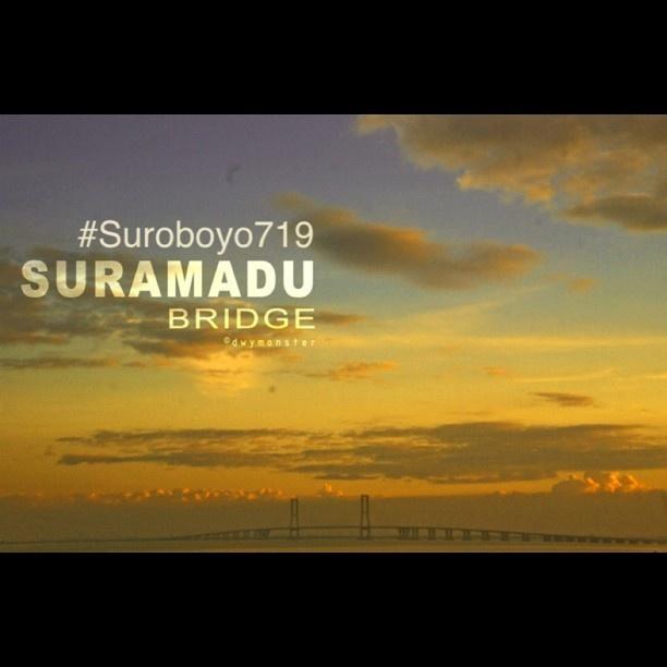 Suramadu Bridge #Suroboyo719 #Surabaya - #dwymonster #monstagram