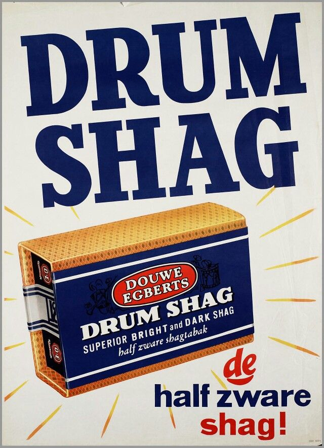 Drum shag, my parents used to smoke it. Luckily they stopped smoking after a few years.