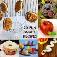 Are you confusing snacktime with sleep time? Liven up the old after-school routine with these creative snack recipes on Babble.com!