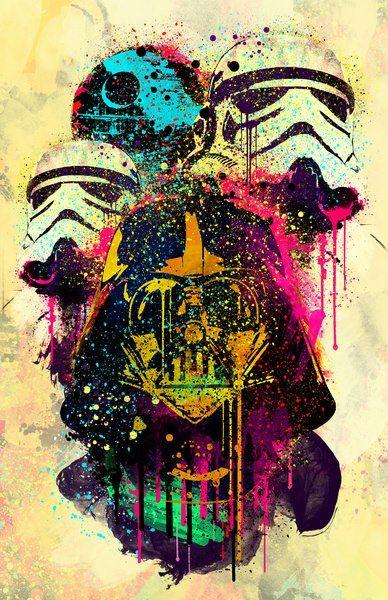Star Wars Pop Art.