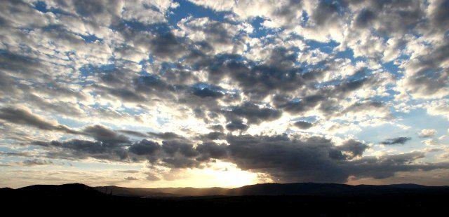 Another beautiful sunset viewed from Ubizane Hill