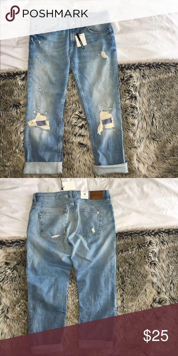 Zara New Boyfriend Jeans New with tags. Zara Sizing: 38 (USA 6) Zara Jeans Boyfriend