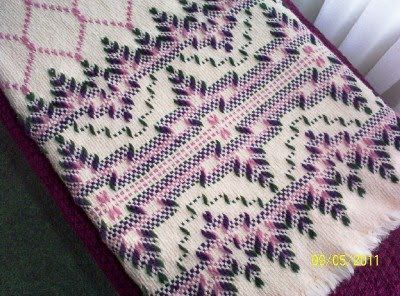 Swedish Weaving Club: Pat's Swedish Weaving Afghan