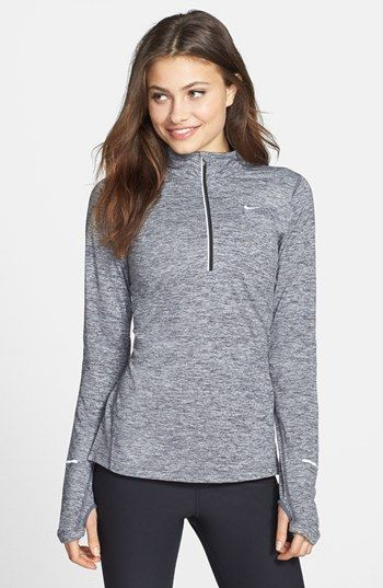 Nike 'Element' Half Zip Top Dark Heather Shadow | Nordstrom