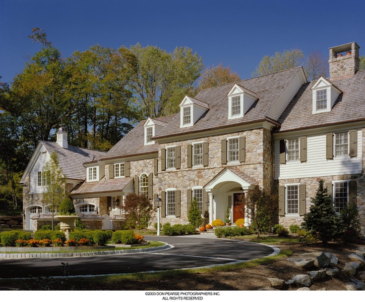 a luxurious pohlig custom home on the philadelphia main line rock creekexterior homescustom