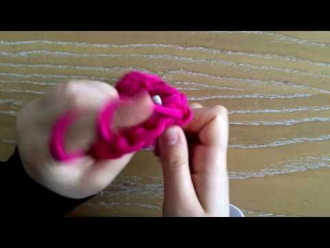 Penye ipten dikdörtgen sepet yapımı - YouTube