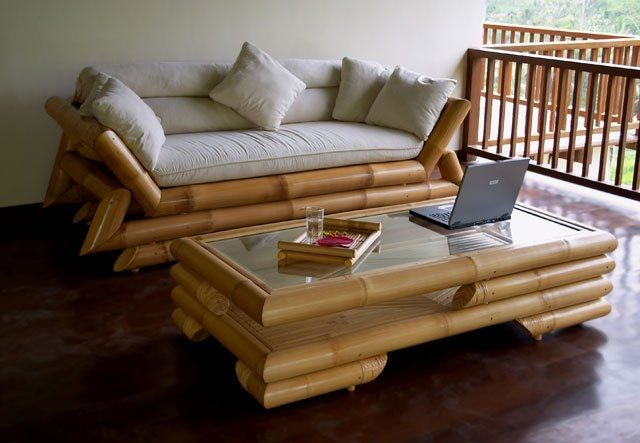 Мебель из бамбука.