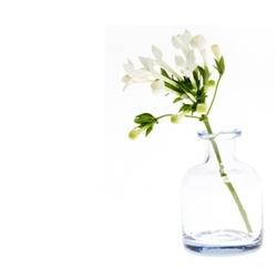 Light blue small vase