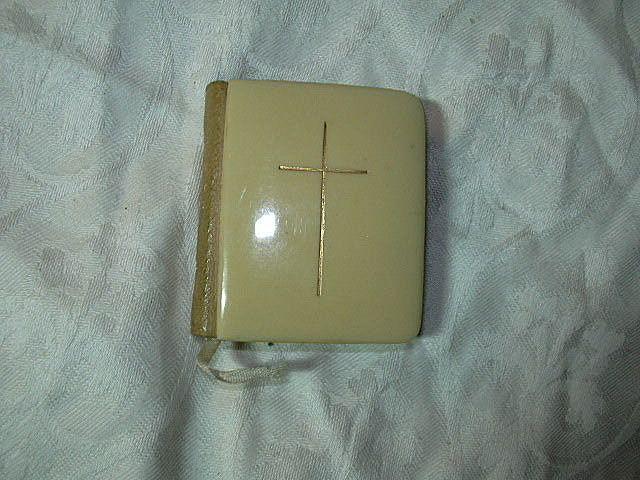 Miniature Book Of Common Prayer Celluloid
