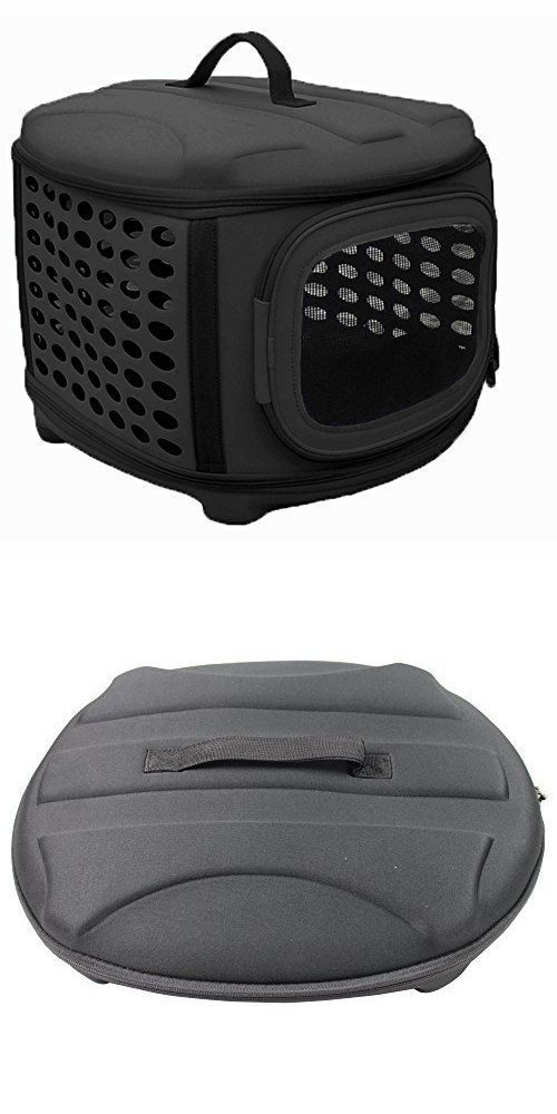 Carriers and Crates 26702: Collapsable Pet Carrier Small Animal Tote Dog Cat Transport Military Grade Black -> BUY IT NOW ONLY: $89.0 on eBay!