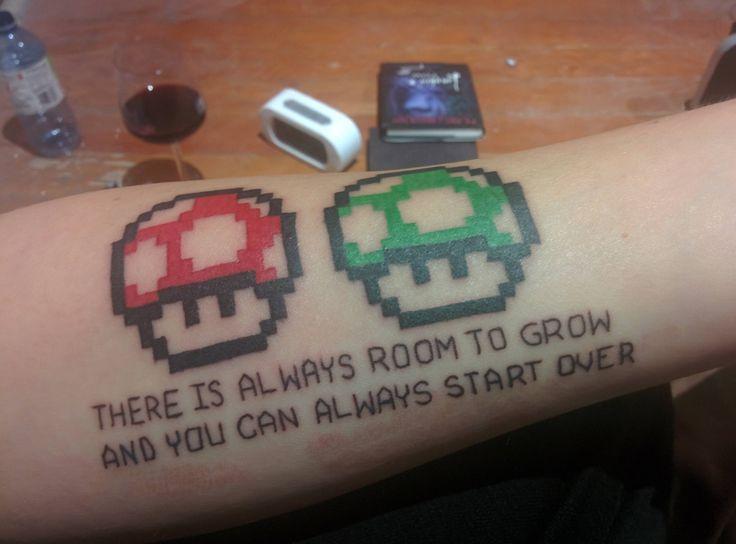 #Mario Tattoo