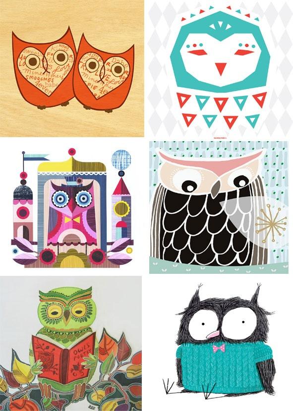 free printable Owl Lover Calendar 2013 – free download