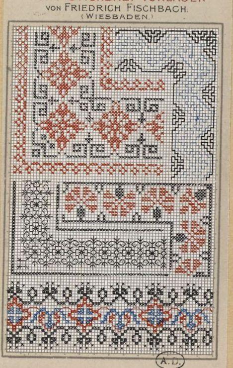 Gallery.ru / Фото #155 - старинные ковры и схемы для вышивки - SvetlanN