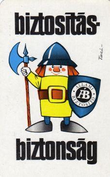 ÁB - 1976 - Állami Biztosító kártyanaptár