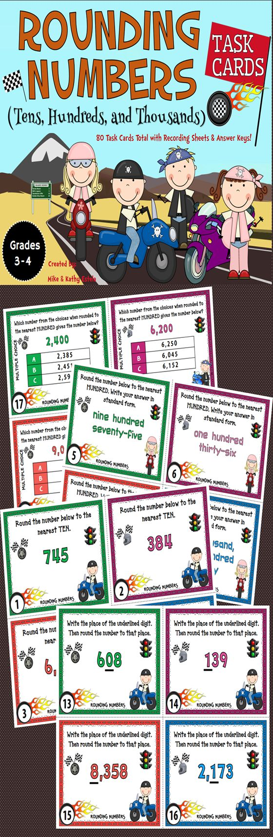 17 Best Ideas About Rounding Numbers On Pinterest Math