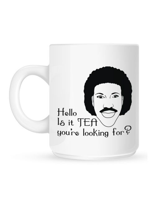 Keep up the positive atmosphere this January with this comic Lionel Richtea 10oz Ceramic Mug
