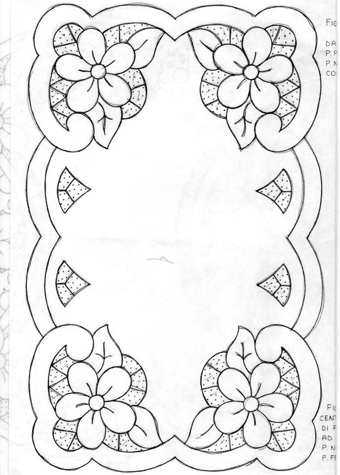 Cutwork Embroidery Design