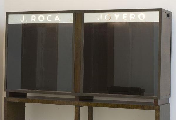 JOSEP LLUÍS SERT  Vitrina de escaparate exterior  1934 de la Joyería Roca Barcelona