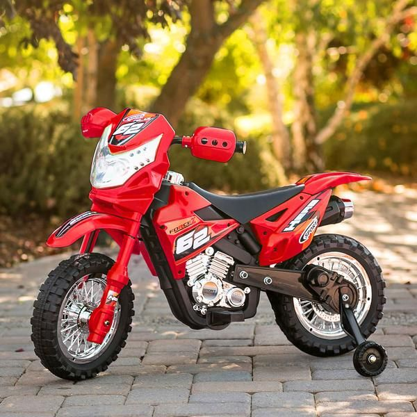 6v Kids Electric Ride On Motorcycle Toy W Training Wheels Lights Music Custom Motorcycles Custom Motorcycles Bobber Motorcycle Wallpaper