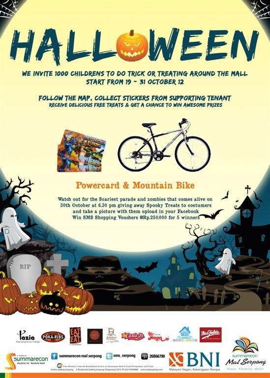 Halloween Celebration, Win the Prizes wraarrrrr ^_^