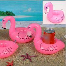 6 Flamingo Drink titular inflável piscina de natação Spa crianças Float Toy Favor de partido presente(China (Mainland))